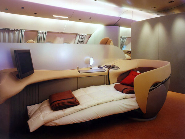 Airbus a380 luxus version 3 for Interieur france