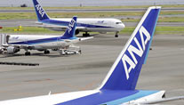 Maschinen der All Nippon Airways (Symbolbild: AFP)