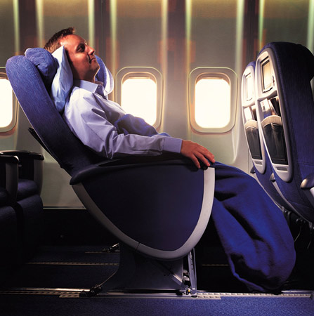"Britsh Airways ""World Traveller Plus"" (Foto: British Airways/dpa/tmn)"
