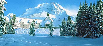"Die ""Timberline Lodge"" war Drehort für den Horrorfilm ""The Shining""  (Foto: Timberline Lodge)"