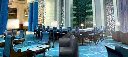 "Dubai: ""Bar Azura"" im neuen Mega-Resort ""Atlantis"" (Grafik: Atlantis, The Palm, Dubai)"