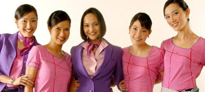 Thai Airways will jüngere Stewardessen einstellen. (Foto: ThaiAirways)