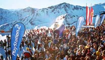 """Rave on Snow"" in Saalbach (Foto: TVB Saalbach-Hinterglemm)"