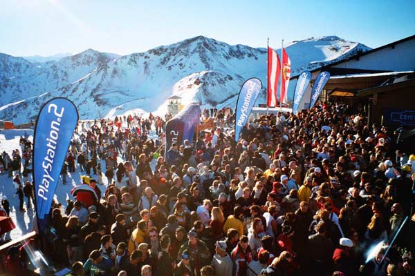 """Rave on Snow"" in Saalbach-Hinterglemm (Foto: TVB Saalbach-Hinterglemm)"