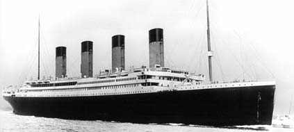". Die ""Titanic"" sank am 14. April 1912 (Foto: dpa)"
