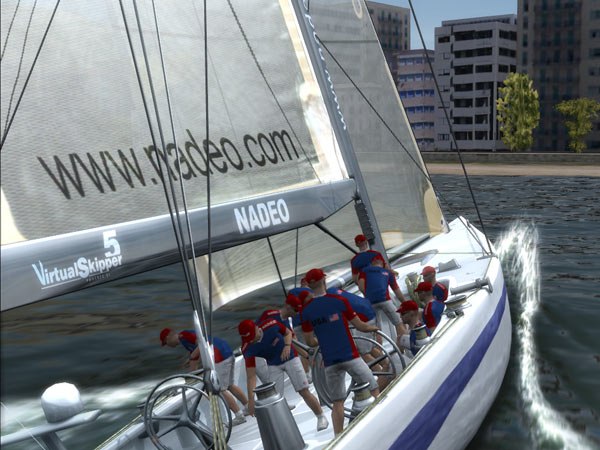 Virtual Skipper Online (Bild: Nadeo)