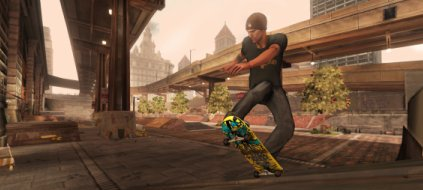 "Spieletest ""Tony Hawk Ride"": Skateboards im Wohnzimmer. Tony Hawk Ride (Bild: Activision)"