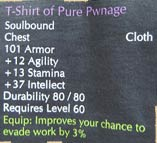 """Pure Pwnage""-WoW-T-Shirt (Bild: purepwnage.com)"