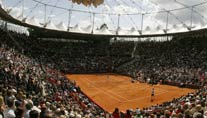Der Center Court im Tennisstadion am Rothenbaum. (Foto: dpa)