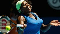 Im Viertelfinale von Melbourne: Serena Williams (Foto: Reuters)