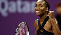 Im Finale des WTA Masters: Venus Williams (Foto: Reuters)