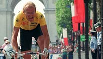 Fuhr zweimal in gelb nach Paris: Laurent Fignon (Foto: afp)