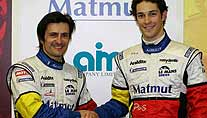 In Le Mans ein Team: Bruno Senna (re.) und Stephane Ortelli (Foto: imago)