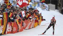 Immer gute Stimmung in Ruhpolding. (Foto: imago)