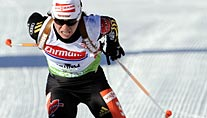 Andrea Henkel in Antholz. (Foto: Reuters)