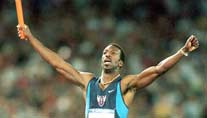 Michael Johnson bei Olympia 2000 in Sydney. (Foto: Imago)