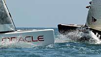 Kein exklusives Duell: Oracle gegen Alinghi (Foto: dpa)