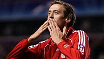 Liverpools Peter Crouch (Foto: imago)