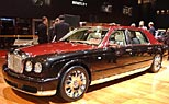 Der Bentley Arnage in Genf. (Foto: Auto-Salon Genf)