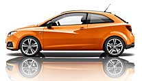 "Seat Ibiza SC ""Color Edition"" (Foto: Seat)"