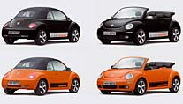 "VW New Beetle ""Black-Orange"" (Foto: Volkswagen)"