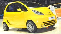 Europa-Version des Tata Nano (Foto: United Pictures)