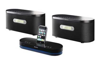 kabelloses ipod dock f r die familie. Black Bedroom Furniture Sets. Home Design Ideas