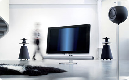 bang olufsen beovision 7 55 lcd fernseher teuer wie ein kleinwagen. Black Bedroom Furniture Sets. Home Design Ideas