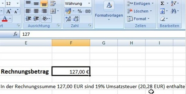 excel formel in text