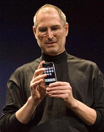 Apple-Chef Steve Jobs. (Foto: dpa)