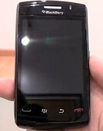 Das Blackberry Storm 2 hat ein piezo-elektrisches Display. (Quelle: Areamobile)