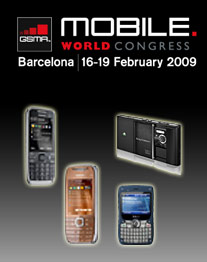 Neuvorstellungen im Minutentakt: Der Mobile World Congress in Barcelona. (Foto: MWC, Nokia, i-mate, Sony Ericsson)