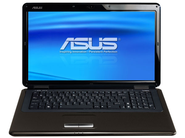 asus k70 17 3 zoll notebook im test. Black Bedroom Furniture Sets. Home Design Ideas