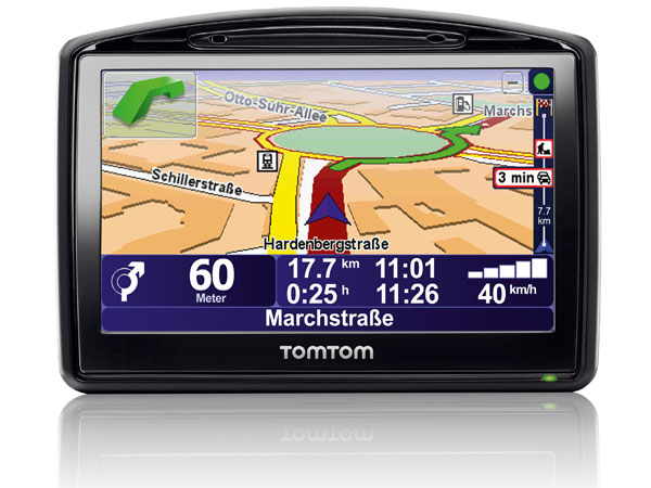 Navigationssystem TomTom Go 930 Traffic im Test. (Quelle: Hersteller)