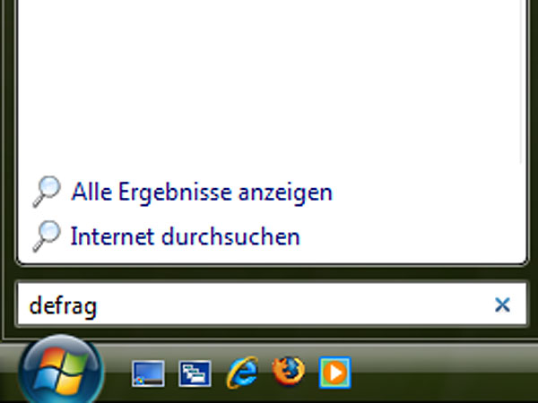 Vista defragmentieren - Schritt 1 (Screenshot: Softwareload)