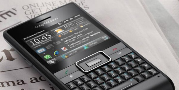 Sony Ericsson Aspen: Grünes Windows-Smartphone im Blackberry-Design. Neuer Angriff auf den Blackberry - das Sony Ericsson Aspen (Foto: Areamobile)