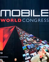 Der Mobile World Congress - die wichtigste Handy-Messe Europas (Foto: GSMA)