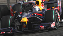 Einer der Favoriten in Spanien: Sebastian Vettel im Red Bull (Foto: xpb.cc)