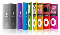 Test iPod und MP3-Player. (Foto: Apple)