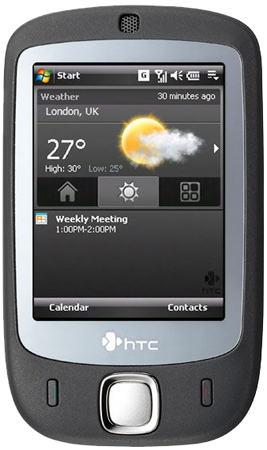 HTC Touch Dual Ansicht 1