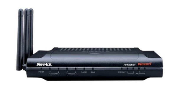 Buffalo WZR-AGL300NH - 11n-WLAN-Router im Test. 11n-Dual-Band-Router: Buffalo WZR-AGL300NH (Foto: pcwelt)