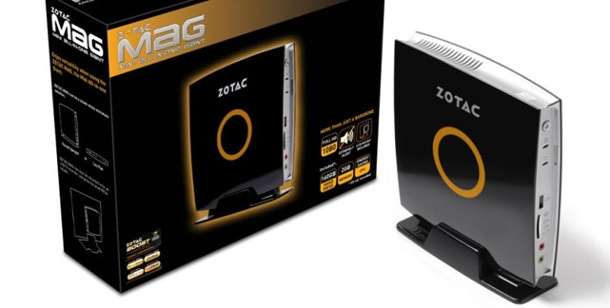 Zotac MAG HD-ND01. Full-HD-Nettop Zotac MAG HD-ND01 im Test (Foto: pcwelt)