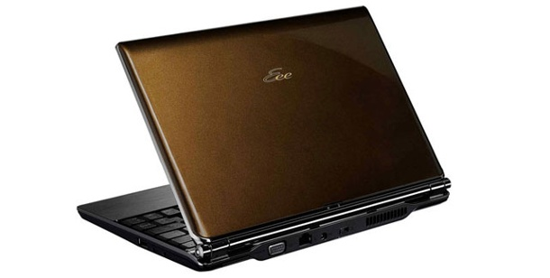 Asus Eee PC S101: 10 Zoll Netbook im Test. Super-flaches Netbook: Asus Eee PC S101 (Foto: Asustek)