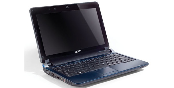 Acer Aspire One D150 - Test 10 Zoll Netbook. Netbook mit Intel Atom N280 im Test: Acer Aspire One D150 (Foto: Acer)