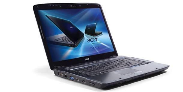 Acer Aspire 5930G-864G32Mn: Test 15,4 Zoll Notebook. Acer Aspire 5930G (Foto: Acer)
