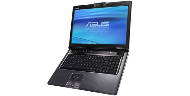 Asus M70SA: Test Multimedia-Notebook mit 17-Zoll-Display. Asus M70SA: Multimedia-Notebook mit 17-Zoll-Display (Foto: Asustek)