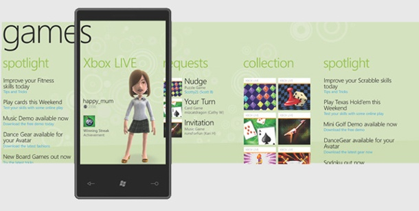 Microsoft will mit Windows Phone 7 Handheld-Markt erobern. Windows Phone 7 (Bild: Microsoft)