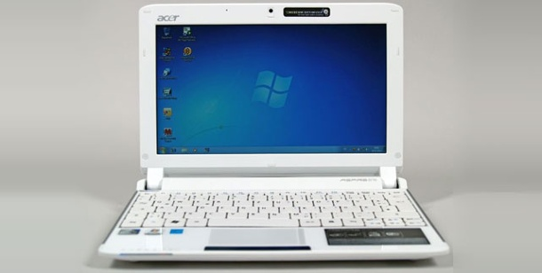 Acer Aspire One 532: Netbook im Test. Acer Aspire One 532: Netbook im Test (Foto: pcwelt)