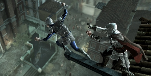 "Spieletest Action-Adventure ""Assassin's Creed 2"" für PC. Assassion's Creed  2 Action-Adventure für PC, Xbox 360 und PS3 (Bild: Ubisoft)"