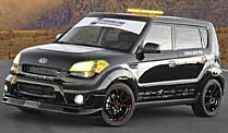. Kia Soul als Safety Car (Foto: Kia)